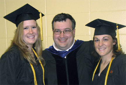 Dr. Goll, Tarah Nytes, and Jenifer Ley